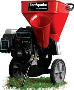 Измельчитель садовый бензиновый Earthquake красный/черный 9010400