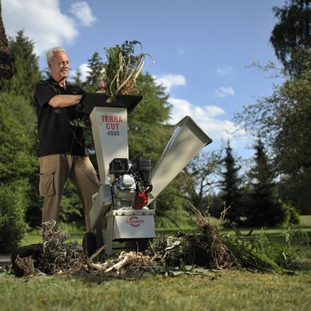 Садовые измельчители Cramer